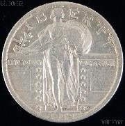 1919 Standing Liberty Silver Quarter Circulated Coin G 4 or Better
