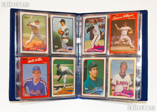 Baseball Card Collecting Starter Set / Kit MLB with 6 Baseball Card Packs & Album