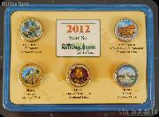 2012 National Park Colorized Quarter Year Set
