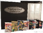 Hockey Card Collecting Starter Set / Kit NHL with 12 Hockey Card Packs, Binder, & Pages