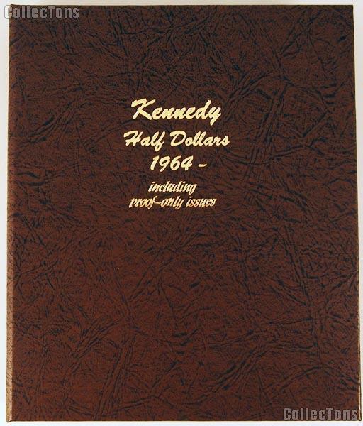 Dansco Kennedy Half Dollars with Proof 1964-2011 Album #8166