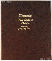 Dansco Kennedy Half Dollars with Proof 1964-2011 Album #8166