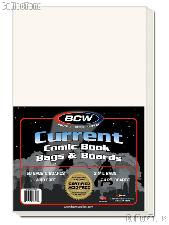 Current Age Comic Book Bag and Board Set - Pack of 50 by BCW