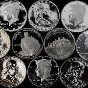 90% US PROOF Silver Half Dollar Mixed Pick