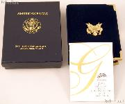 2006 American Eagle 1/10th oz Proof $5 Gold Bullion Coin OGP Replacement Box and COA