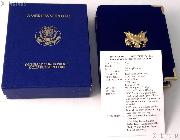 1993 American Eagle 1/2 oz Proof $25 Gold Bullion Coin OGP Replacement Box and COA
