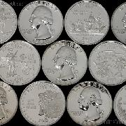 90% U.S. PROOF Silver Quarters - Mixed Dates