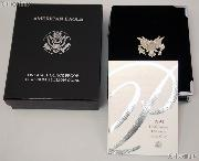 1998-W American Eagle 1/2 oz Proof $50 Platinum Bullion Coin OGP Replacement Box and COA