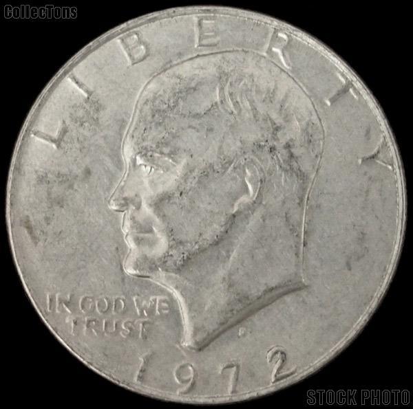 Eisenhower Dollar Bulk Lot of 10 Different Ike Dollars 1971-1978