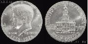 1976 Kennedy BICENTENNIAL Silver Clad Half Dollar Brilliant Uncirculated Condition