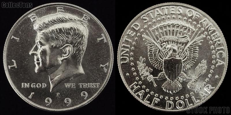 Kennedy CLAD Half Dollar (1971-Date) 3 Different Coin Lot Brilliant Uncirculated Condition
