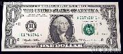 One Dollar Bill Green Seal FRN STAR NOTE Series 1999 US Currency CU Crisp Uncirculated