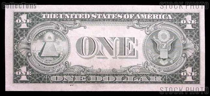 One Dollar Bill Silver Certificate STAR NOTE NO MOTTO Series 1935 US Currency Good or Better