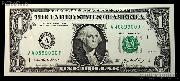 One Dollar Bill Federal Reserve Note FRN Series 2006 US Currency CU Crisp Uncirculated