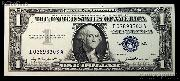 One Dollar Bill Silver Certificate Series 1957 US Currency CU Crisp Uncirculated