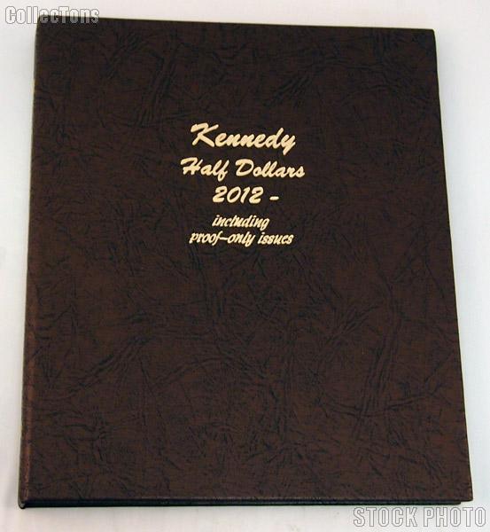 Dansco Kennedy Half Dollars with Proof 2012-2016 Album #8167