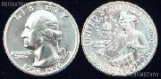 1976 Washington BICENTENNIAL Quarter One Coin Brilliant Uncirculated Condition