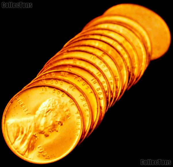 1937-D Lincoln Wheat Cent in Uncirculated Condition from Original Roll
