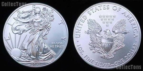 American Silver Eagle Dollar (1986-Date) 5 Different Coin Lot Brilliant Uncirculated Condition
