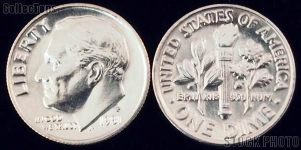 Roosevelt Dime (1965-Date) One Coin Brilliant Uncirculated Condition
