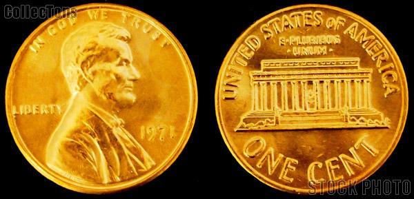 Lincoln Memorial Cent Copper (1959-1982) 10 Different Coin Lot Brilliant Uncirculated Condition