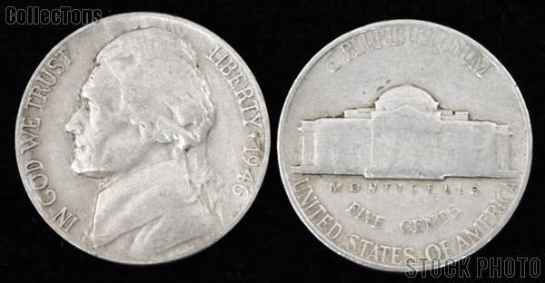 Jefferson Nickel (1938-1959) One Coin G+ Condition