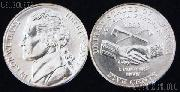 Jefferson Nickel PEACE MEDAL Design from Westward Journey Series (2004) One Coin Brilliant Uncirculated Condition