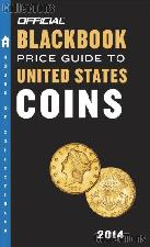 2014 Official Blackbook Price Guide to United States Coins by Hudgeons - Paperback