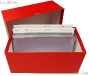 Currency Filing System - Modern Size with Filing Cards, Sleeves, Storage Box