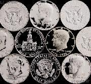 40% US PROOF Silver Half Dollar Mixed Pick