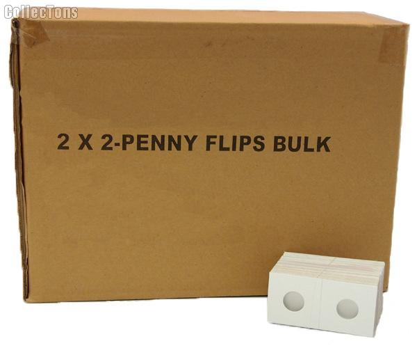 5,000 2x2 Cardboard Coin Holders CENTS