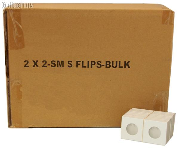 5,000 2x2 Cardboard Coin Holders SMALL DOLLARS