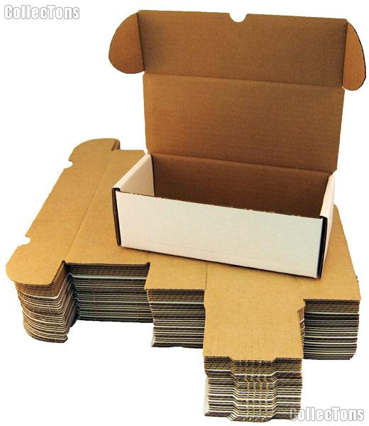 10 Sports Cards Storage Boxes by BCW 500 Count Cardboard Storage Boxes