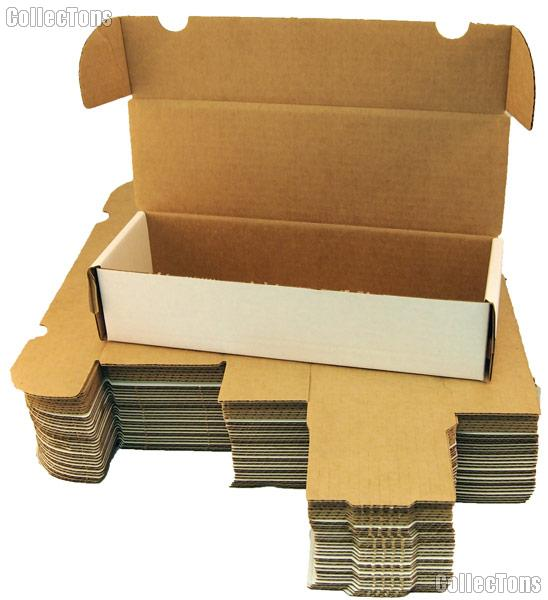 10 Trading Card Storage Boxes By Bcw 660 Count Cardboard Storage Boxes