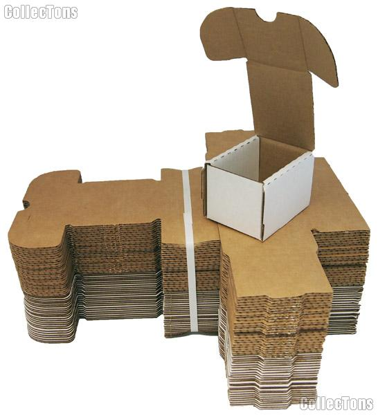 Trading Card Storage Box 100 Count BUNDLE of 50 by BCW 100 Count Cardboard Storage Box