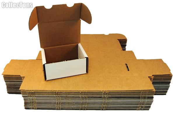10 Sports Cards Storage Boxes by BCW 300 Count Cardboard Storage Boxes