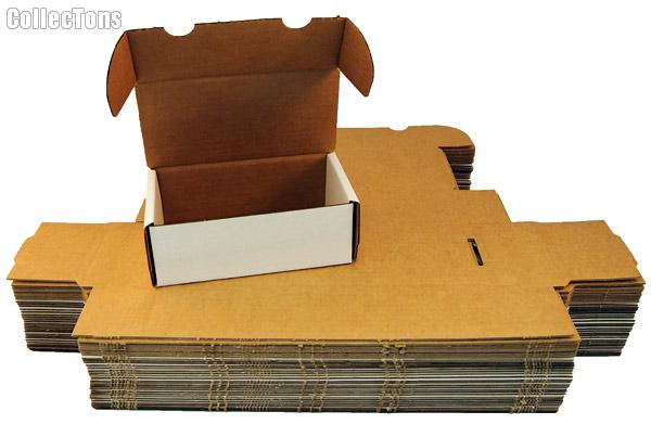 Trading Card Storage Box 400 Count BUNDLE of 50 by BCW 400 Count Cardboard Storage Box