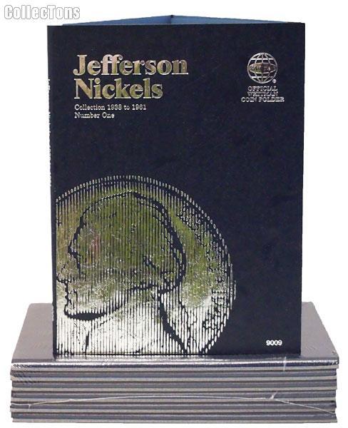 Whitman Jefferson Nickels 1938-1961 Folder 9009