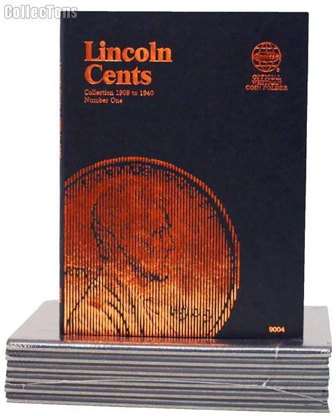 Whitman Lincoln Cents 1909-1940 Folder 9004