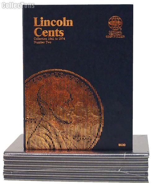 Whitman Lincoln Cents 1941-1974 Folder 9030