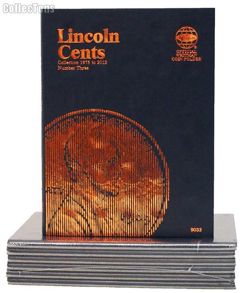 Whitman Lincoln Cents from 1975-2013 Folder 9033