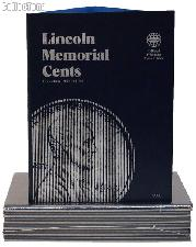 Whitman Lincoln Memorial Cents 1959-1998 Folder 9000