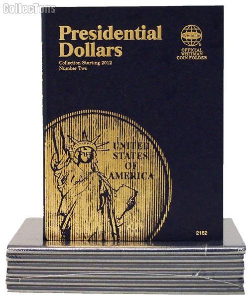 Whitman Presidential Dollars 2012-2016 Folder 2182