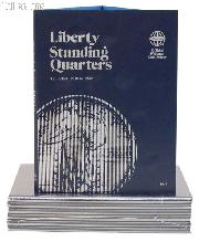 Whitman Standing Liberty Quarters 1916-30 Folder 9017