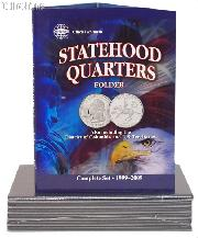 Whitman Statehood, D.C. & Territory Quarter Folder 8097
