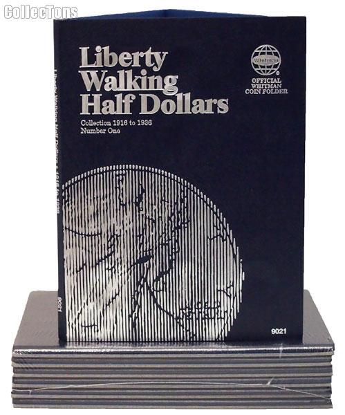 Whitman W. L. Half Dollar Folder 1916-36 Folder 9021