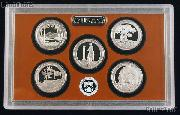 2013 National Parks Quarter Proof Set - 5 Coins