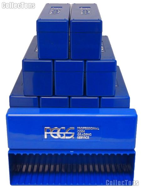 PCGS Plastic Storage Box for 20 Slab Coin Holders  sc 1 st  CollecTons.com & PCGS Plastic Storage Box for 20 Slab Coin Holders - $6.99