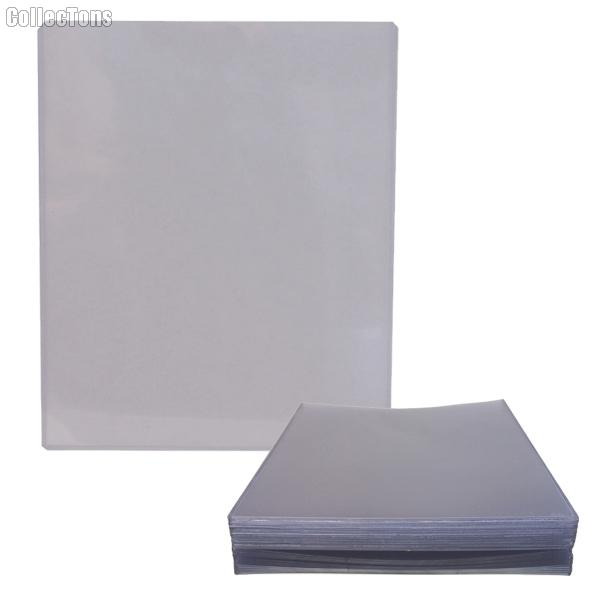 8x10 Autograph Holder by GuardHouse 25 Pack Heavy Duty Plastic Top Loaders