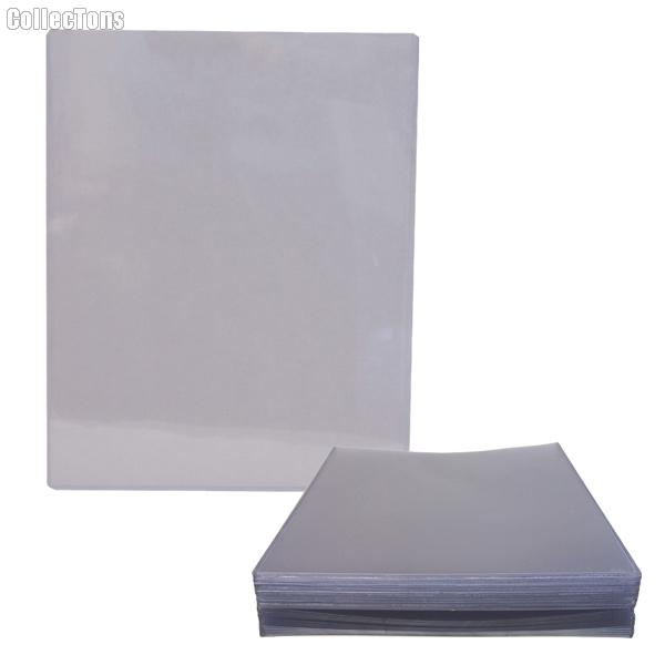 Top Loading Sheet Protector by GuardHouse 25 Pack Heavy Duty Plastic Top Loaders